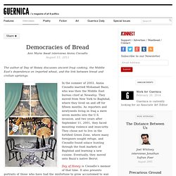 Democracies of Bread