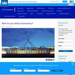 Constitution Education Fund Australia