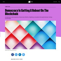 Democracy Is Getting A Reboot On The Blockchain