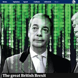 Guardian - 7 May 2017 - The great British Brexit robbery: how our democracy was hijacked - by Carole Cadwalladr