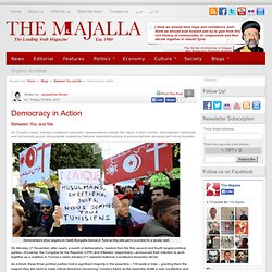 Democracy in Action | The Majalla