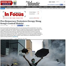 Pro-Democracy Protesters Occupy Hong Kong's Central District