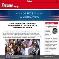 Deux nouveaux candidats démocrates à l'assaut de la forteresse Clinton