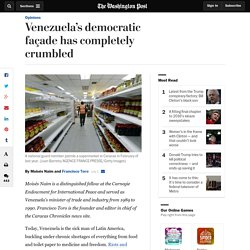 Venezuela's democratic façade has completely crumbled