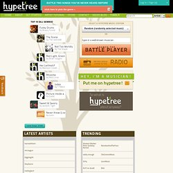 hypetree | The Democratic Music Discovery & Promotion Engine | Join the Beta