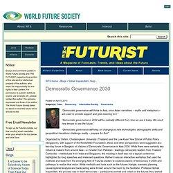 Democratic Governance 2030