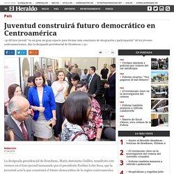 Juventud construirá futuro democrático en Centroamérica