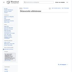 Démocratie athénienne