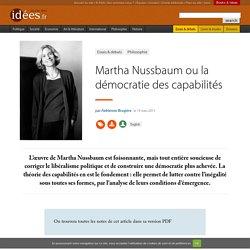 Martha Nussbaum ou la démocratie des capabilités
