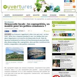 2014/03/22 - Les copropriétés, un modèle pour les petites communes ?