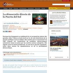 La démocratie directe de la Puerta del Sol