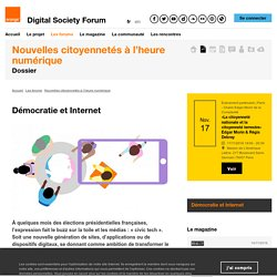 Démocratie et Internet