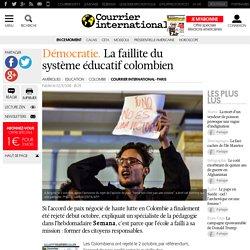 Démocratie. La faillite du système éducatif colombien