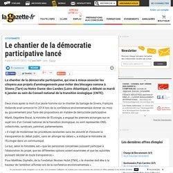 Le chantier de la démocratie participative lancé