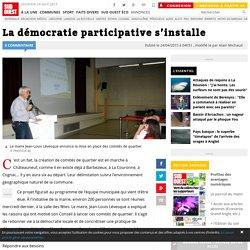La démocratie participative s'installe