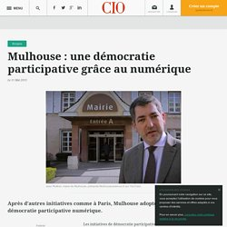 Mulhouse: une démocratie participative grâce au numérique