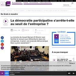 La démocratie participative s'arrête-t-elle au seuil de l'entreprise ?