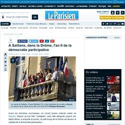 A Saillans, dans la Drôme, l'an II de la démocratie participative