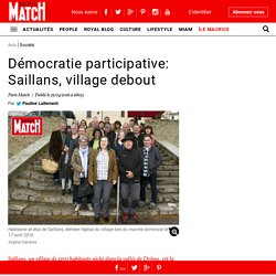 Démocratie participative: Saillans, village debout