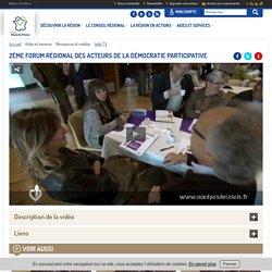 NPDC - 2ème Forum régional des acteurs de la Démocratie participative Vidéo