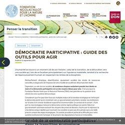 Démocratie participative : guide des outils pour agir