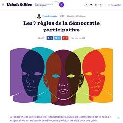 Les 7 règles de la démocratie participative