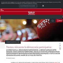 Nantes réinvente la démocratie participative