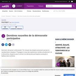 Dernières nouvelles de la démocratie participative