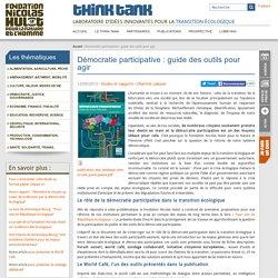 Outils de démocratie participativeterritoriale - Fondation Nicolas Hulot