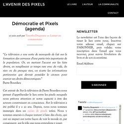 Démocratie et Pixels (agenda) - L'avenir des pixels
