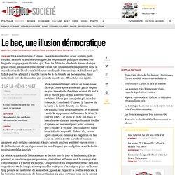 Le bac, une illusion démocratique