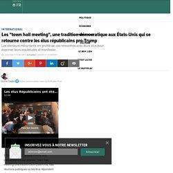 """Les """"town hall meeting"""", une tradition démocratique aux États-Unis qui se retourne contre les élus républicains pro-Trump"""