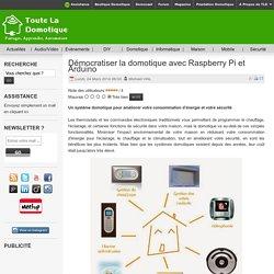 Démocratiser la domotique avec Raspberry Pi et Arduino