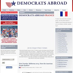 Democrats Abroad | The official Democratic Party for Americans living outside of the United States