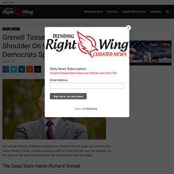 Grenell Tosses Grenade Over His Shoulder On Way Out Door - Democrats Splatter - TRENDINGRIGHTWING