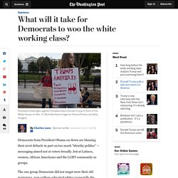 What will it take for Democrats to woo the white working class?