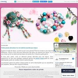 Perles jamais démodées-l'un de matériel essentiel pour bijoux
