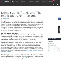 Demographic Trends And The Implications For Investment