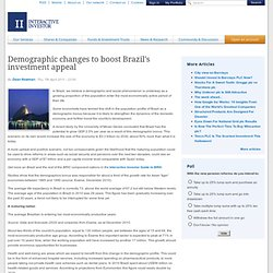 Demographic changes to boost Brazil's investment appeal
