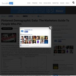 The Marketers Guide to People Who Pin