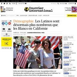 Démographie. Les Latinos sont désormais plus nombreux que les Blancs en Californie