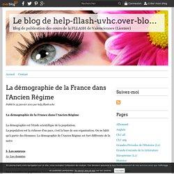 La démographie de la France dans l'Ancien Régime - Le blog de help-fllash-uvhc.over-blog.com