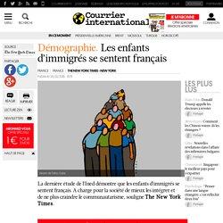 Démographie . Les enfants d'immigrés se sentent français