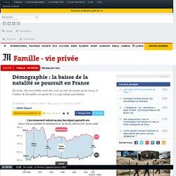 Démographie: la baisse de la natalité se poursuit en France
