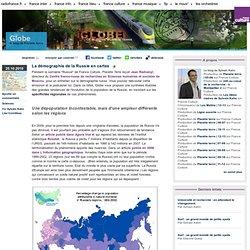 La démographie de la Russie en cartes - Globe