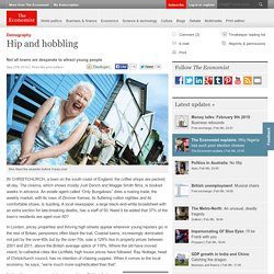Hip and hobbling 27/09/2014 - The Economist