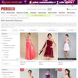 Robe demoiselle d'honneur pas cher vente en ligne -PERSUN.fr