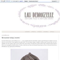 Lau Demoizelle : Tricoteuse Addict: Un bonnet spiral pointu