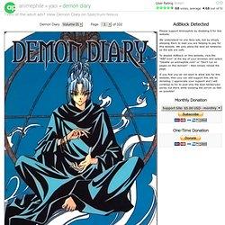 Demon Diary Yaoi Online · Animephile!