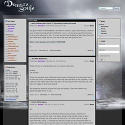 Demon's Souls Wiki Forums • Portal